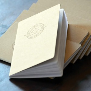 Custom Letterpress Notebook
